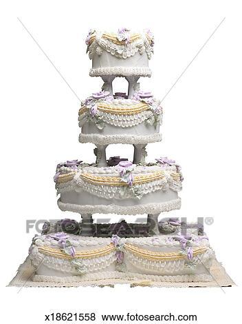 Hochzeit Kuchen Stock Foto X18621558 Fotosearch