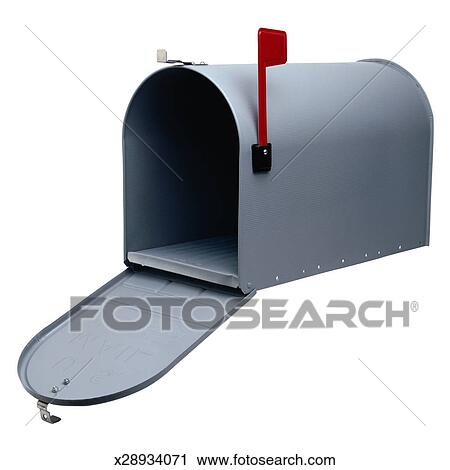 mailbox flag up.  Mailbox Open Mailbox With Flag Up In S