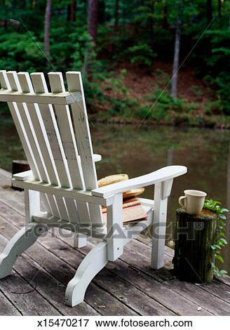 Adirondack Chair On A Dock