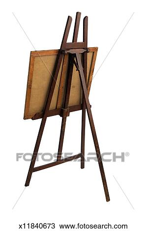 stock photo of back view of an easel x11840673 search stock images