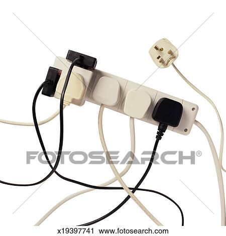 Stock Photography of Overloaded Power Strip x19397741 - Search Stock ...