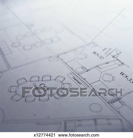 Clipart of detail of a blueprint for a conference room x12774421 clipart detail of a blueprint for a conference room fotosearch search clip art malvernweather Images