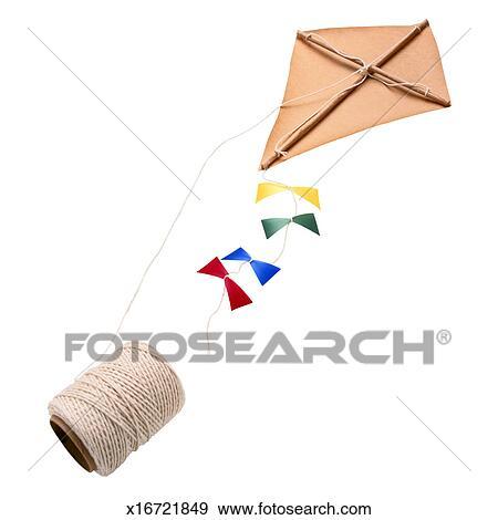 Homemade Kite Stock Photo | x16721849