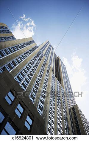 帝国の国営建物, 中に, マンハッタン, ニューヨーク市, ny, アメリカ ストックイメージ