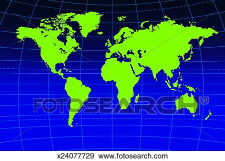 Map, Cartography, Line, Grid, Geography, Atlas Stock Photo