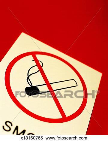 Stock Illustration Achtung Zigarette Begriff Gefahr Gesundheit