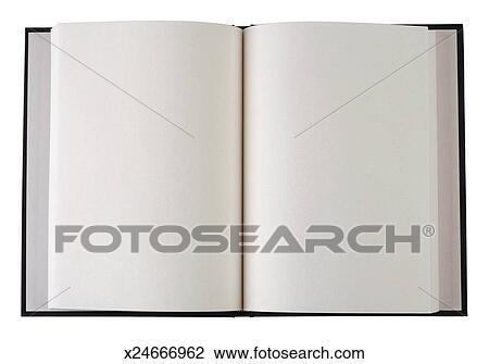 Livre Ouvert A Vide Pages Banque D Image