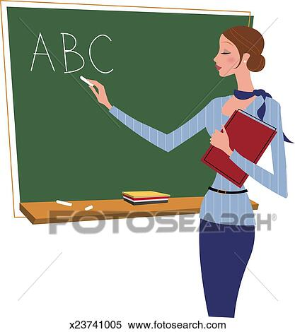 Writing Clipart For Teachers Stock Illustrat...