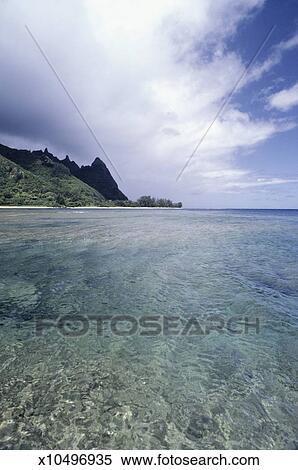 Bali Hai Beach Kauai Hawaii Usa