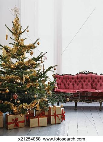 Pictures of Decorated Christmas Tree With Wrapped Presents ... on chaise recliner chair, chaise furniture, chaise sofa sleeper,