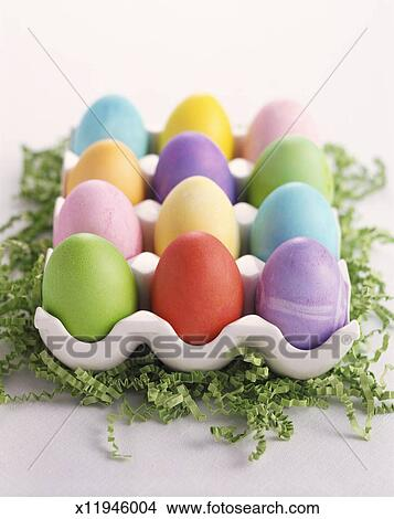Decorated Eggs Picture X11946004 Fotosearch