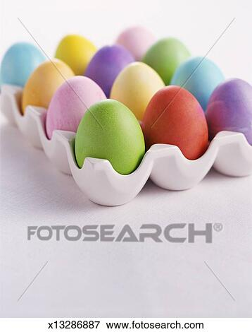 Decorated Eggs Stock Photo X13286887 Fotosearch