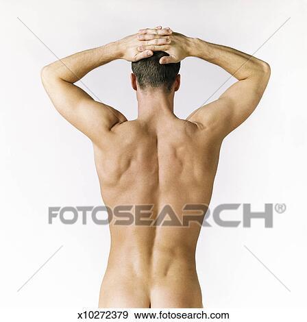 Man licking woman naked