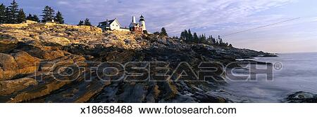 Picture   This Is The Pemaquid Point Lighthouse At Sunrise. It Was Built In  1827