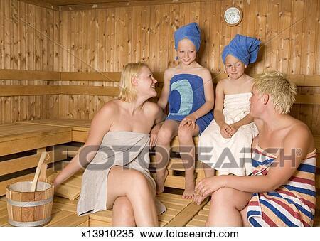 Sauna teens three