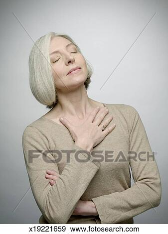 Reife Brust Bild