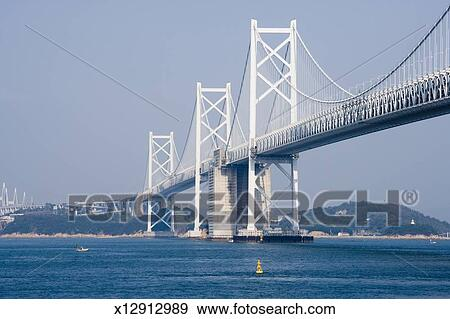 stock photograph of japan seto chuo expressway kita and minami