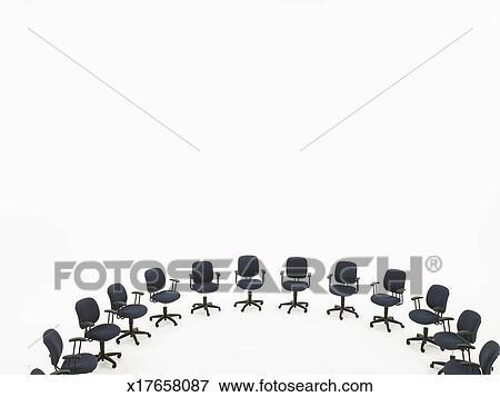 Image demi cercle de chaises bureau recherchez des