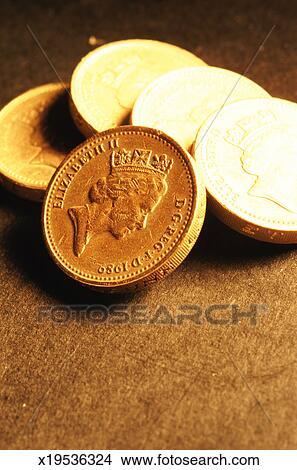Stock Foto Englisches Geldmünzen X19536324 Suche Stockbilder