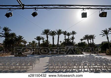 Outdoor Stage Stock Image