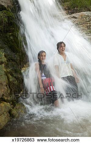 Girls waterfall pics 38