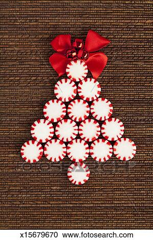 peppermint candy christmas tree - Peppermint Christmas Tree