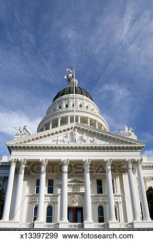 Stock Photograph of California State Capitol