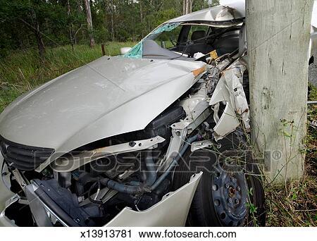 Stock Fotografie - tödlich, autounfälle, nachwirkungen x13913781 ...