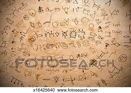 Stock Photography Of Blackfoot Indian Symbols X16425640 Search