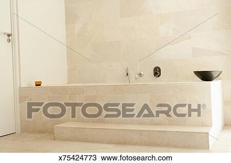 Bagni Con Doccia E Vasca Moderni : Archivio fotografico moderno vasca bagno con doccia x75424773