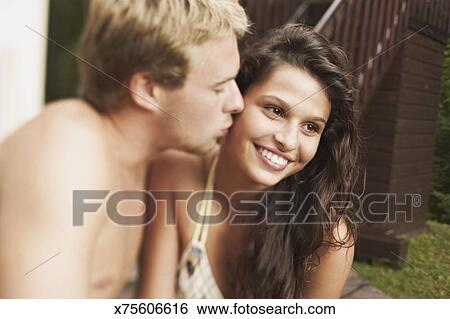 Teen babes kissing their teens