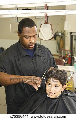 Getting A Haircut 27