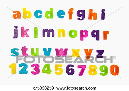fridge magnet letters and numbers