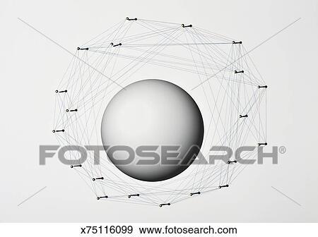 Stock Fotograf Faden Und Nagel X75116099 Suche Stock