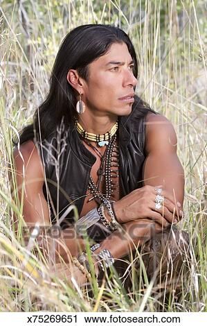 Stock Photography Of Native American Man X75269651 Search Stock