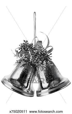 Stock Photography Of Silver Bells Christmas Tree Decorations Awesome Silver Bells Decorations
