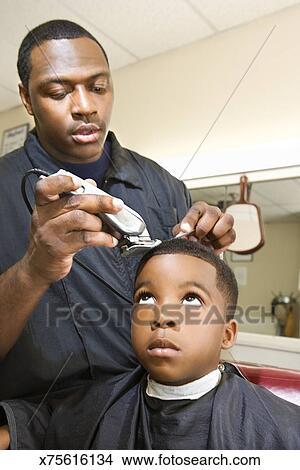 Getting A Haircut 70