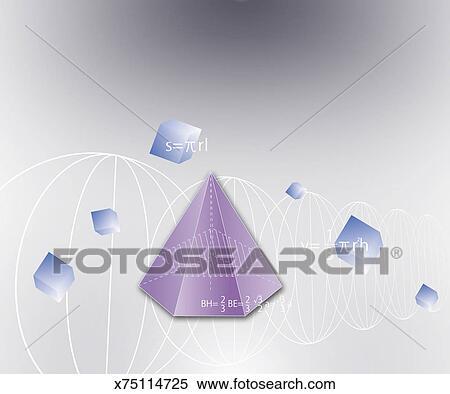 Stock Illustration Of Formula Graph Math Symbols X75114725