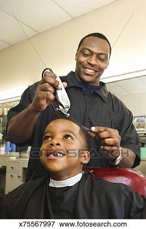 Getting A Haircut 17
