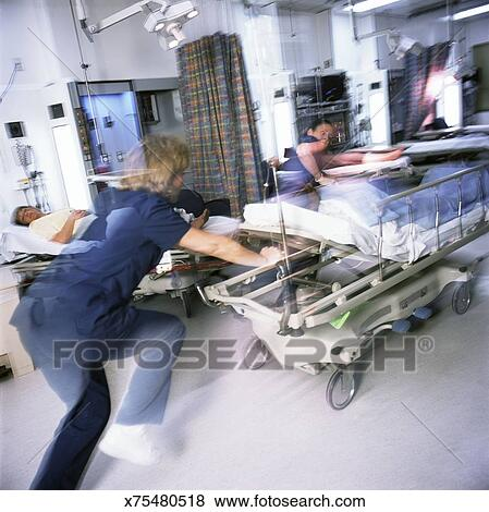 Pictures Of Busy Emergency Room X75480518