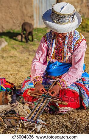 sombras de grandes ofertas 2017 venta de tienda outlet Peruano, mujer, tejer, tradicional, cinturón Colección de fotografía