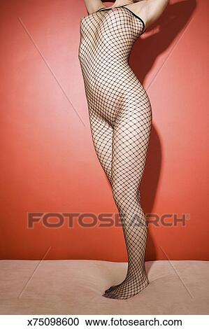 Naked wife fishnet — pic 1