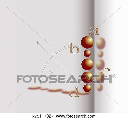 Stock Illustration Of Formula Graph Math Symbols X75117027
