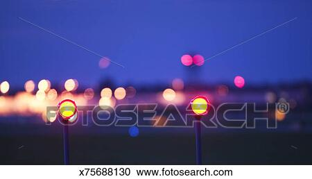 Airport Runway Lights