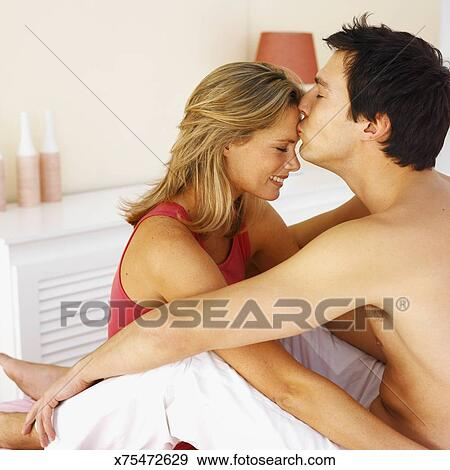 Kissing Video On Bed