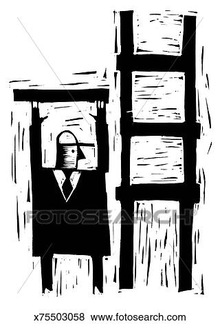 Ilustrace Z Mnoziny Obchodnik Budova Zebrik X75503058 Hledat