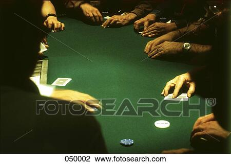 Group Of People Gambling At A Casino Blackjack Table Stock Image