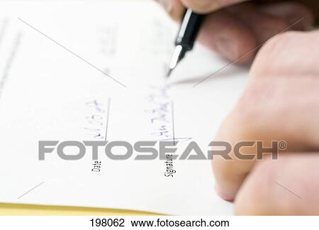 Stock Photo Of A Person Signing A Legal Document Search - Signing legal documents