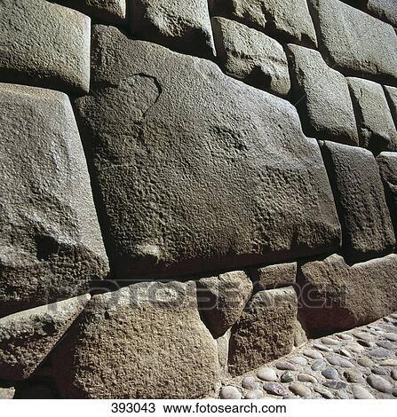 coleccin de foto pared de piedra sacsayhuaman inca ruinas cusco per - Pared Piedra