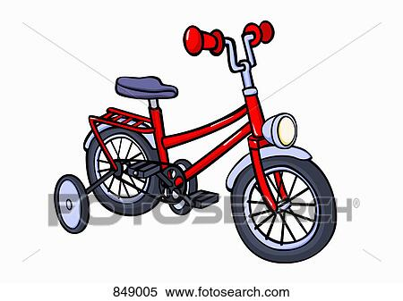 Clipart Of An Illustration Of A Bicycle 849005 Search Clip Art